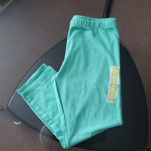 Girls size XL teal capri leggings CIRCO *NWT*